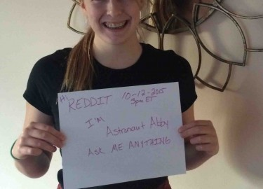 Astronaut Abby REDDIT Ask Me Anything