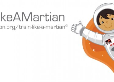 Train Like A Martian Tim Peake