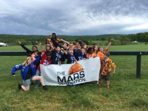 Members of The Mars Generation