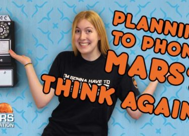 Communicating with people on Mars?   #AskAbby Space and Science Show