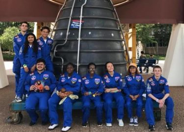 The Mars Generation 2018 Space Camp Scholarship Winners Announced