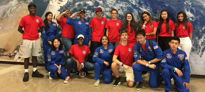 Space Camp Scholarship Students