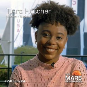 Tiera Fletcher_24 Under 24_STEM Awards_he Mars Generation_2019
