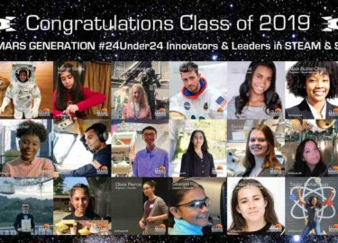 Class of 2019_24 Under 24_STEAM_Space_Awards_The Mars Generation