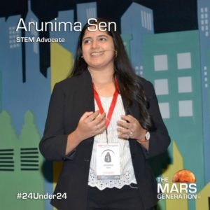 Mars Generation STEM awards 2020 Arunima Sen STEM Advocate