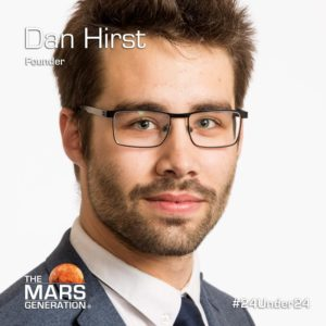 Mars Generation STEM awards 2020 Dan Hirst Founder