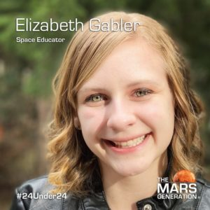 Mars Generation STEM awards 2020 Elizabeth Gabler Space Educator