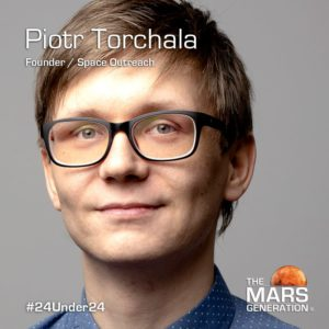 Mars Generation STEM awards 2020 Piotr Torchala Founder Space Outreach