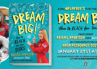 Abigail Harrison_Dream Big!_Malaprop Launch_The Mars Generation