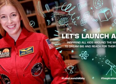 #LetsLaunchAbby_Inspiration4 Contest_The Mars Generation_Astronaut Abby#LetsLaunchAbby_Inspiration4 Contest_The Mars Generation_Astronaut Abby