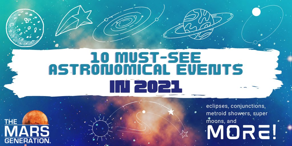 The Mars Generation_Top Astronomical Events in 2021